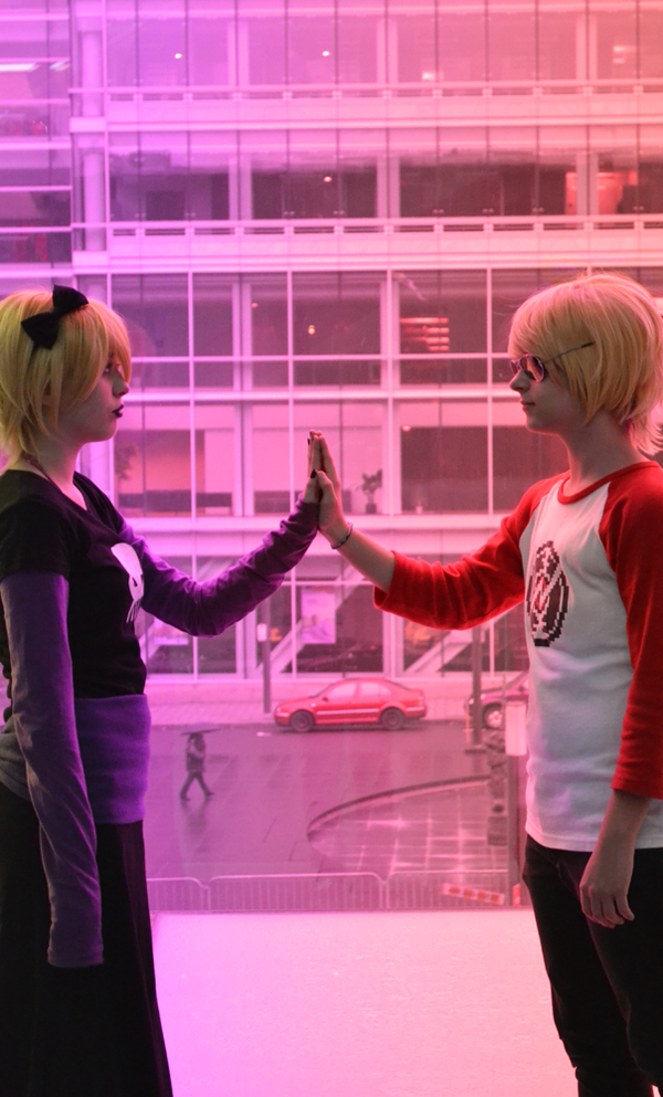 HOMESTUCK - Dave and Rose by DaiNakamaDan-Cosplay