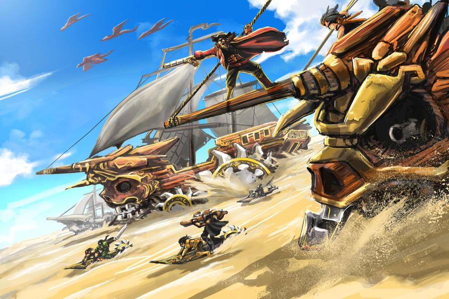 Desert Pirates by Ice-The-Gun