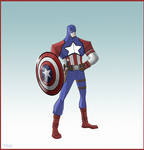 Redesign : Captain America