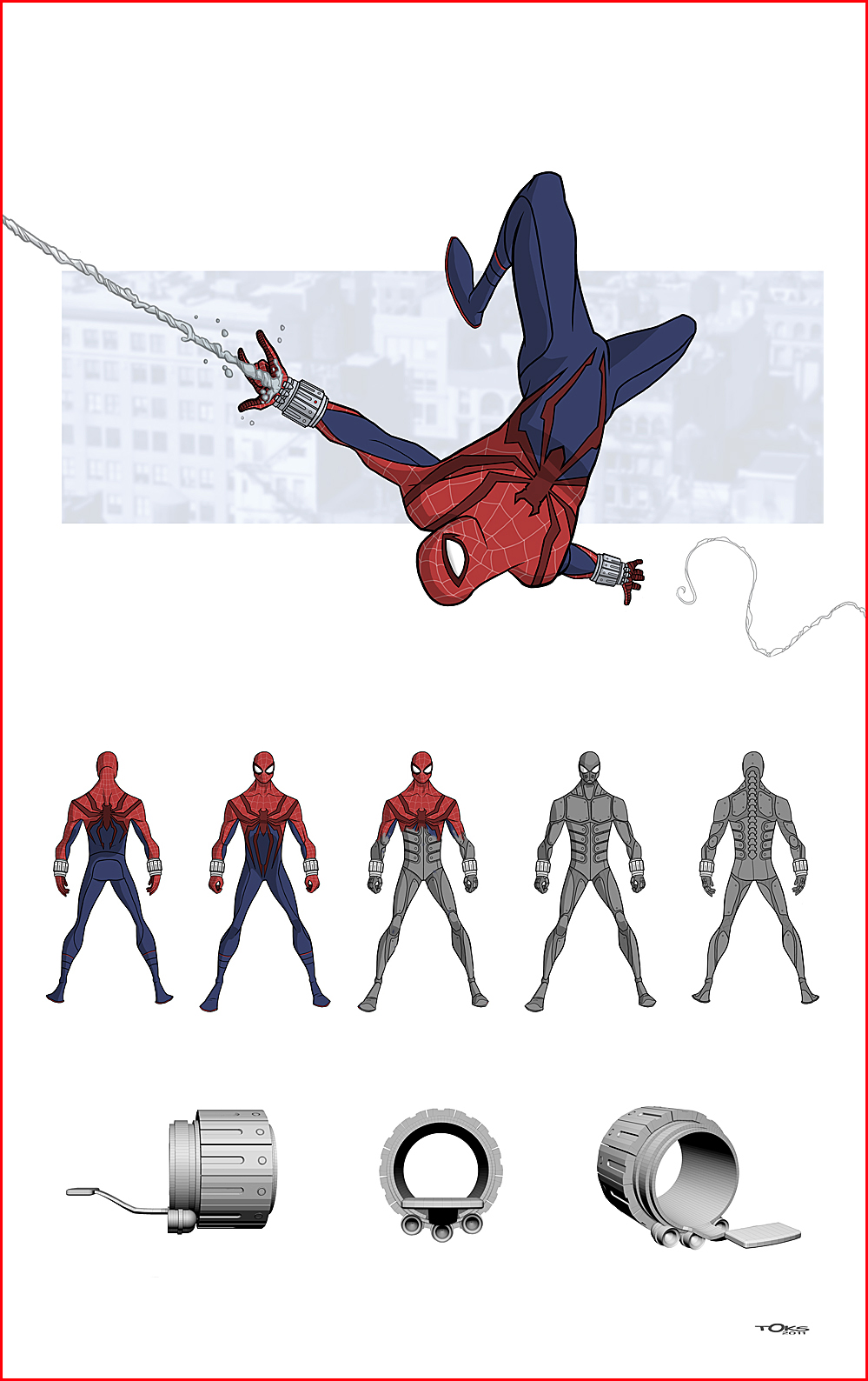 SPIDER-MAN WEBHEAD 2.0 by Toks-S