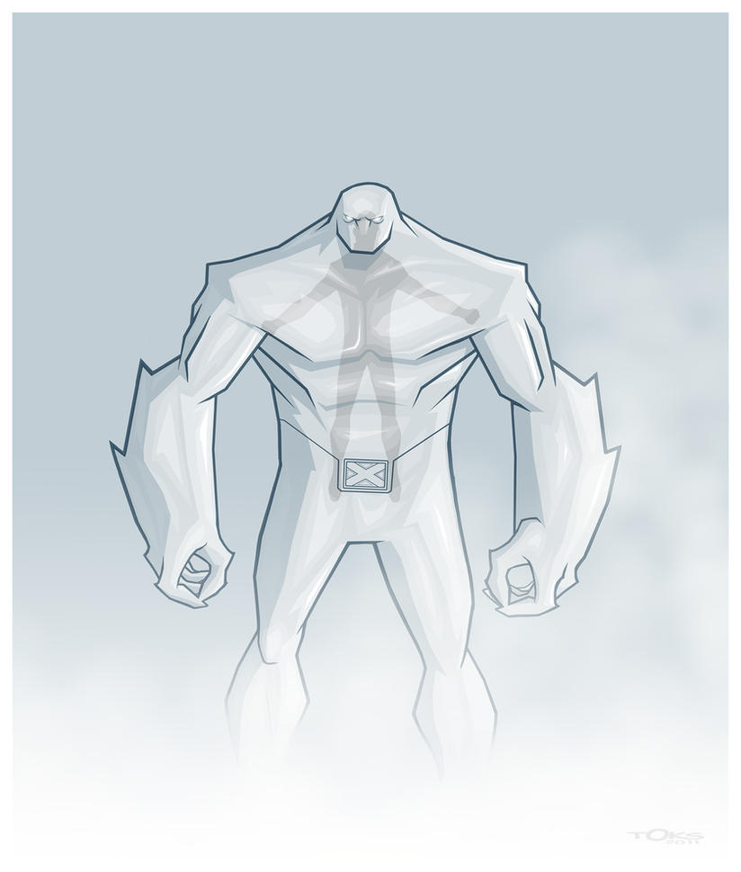 REDESIGN: ICEMAN by Toks-S