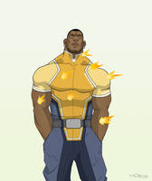 REDESIGN: LUKE CAGE by Toks-S