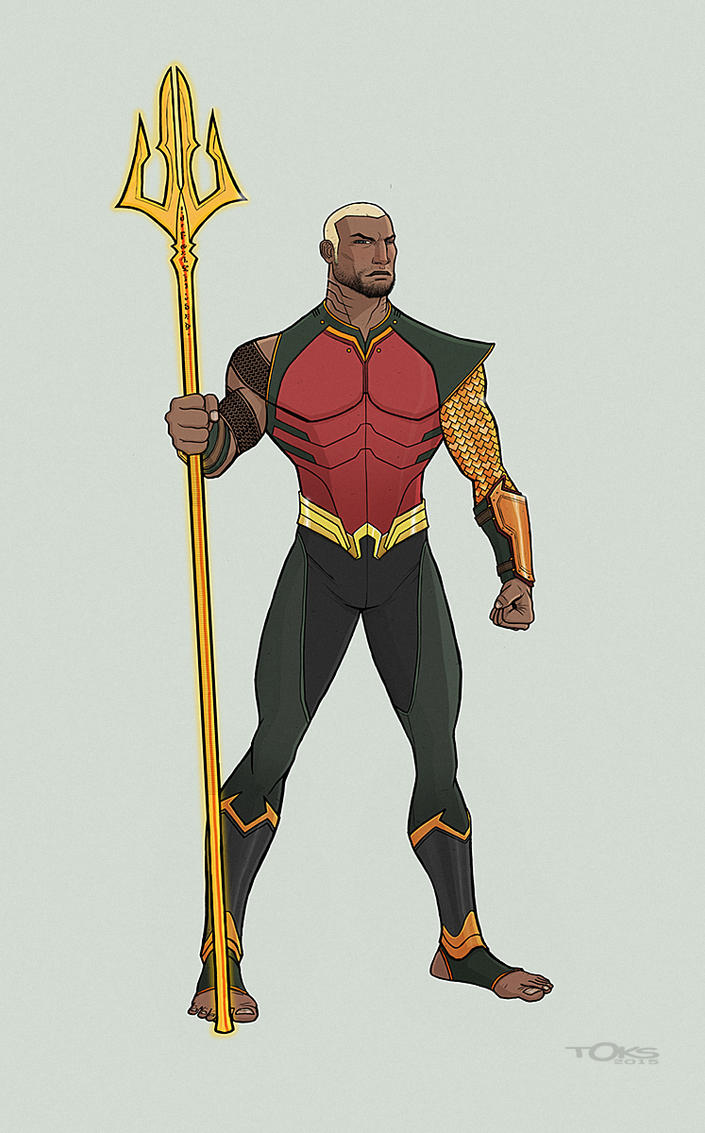 AquaLad /AquaMan redesign by Toks-S