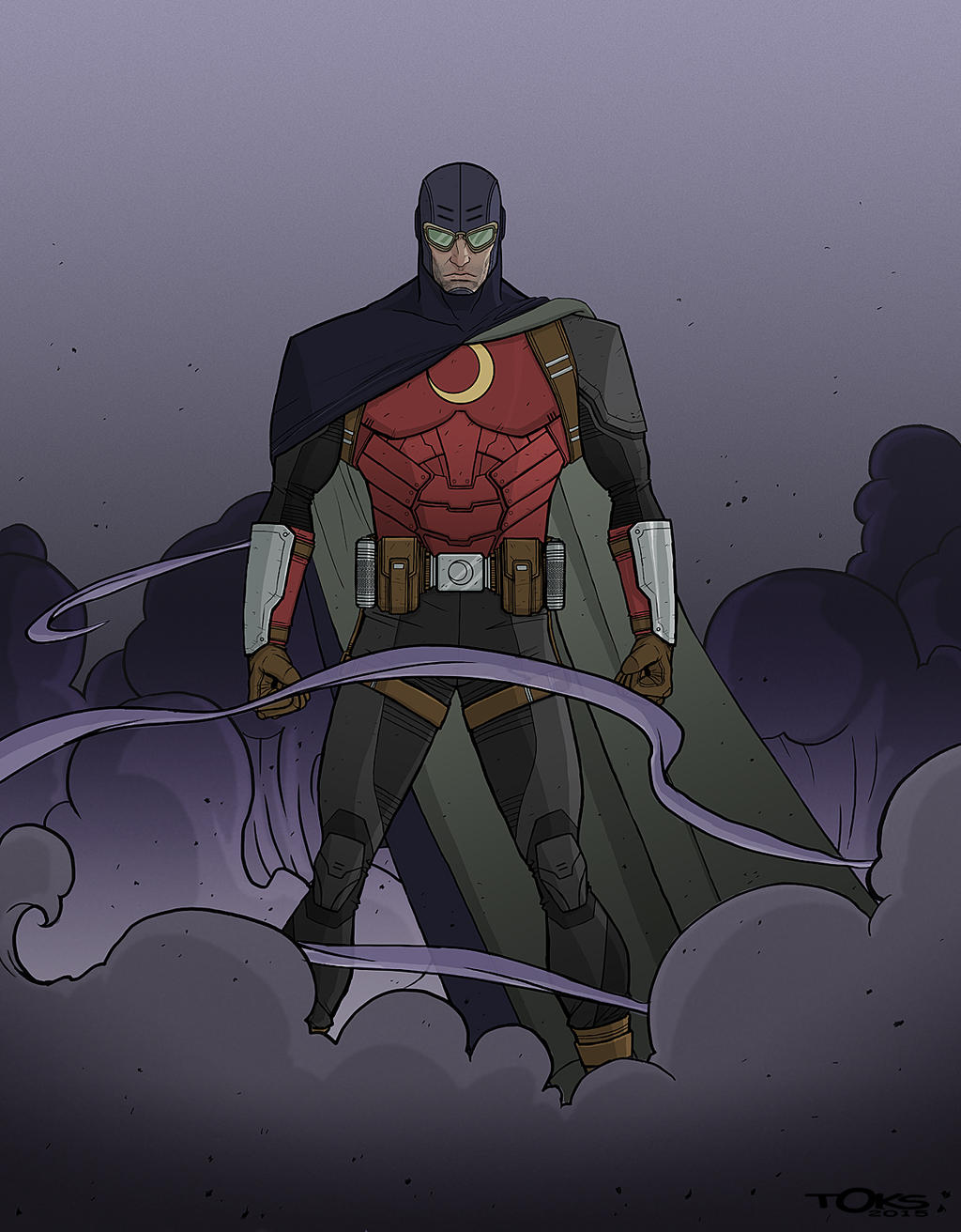 Dr Midnite redesign by Toks-S