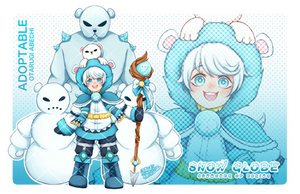Adoptable Auction #2 | Snow Globe [ OPEN ] by OtarugiAbechi
