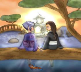 Neji and Hinata by mysterio1274