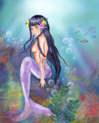 Hinata Mermaid edit by mysterio1274