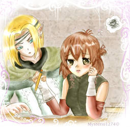 Rune Factory Orland and Aria