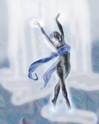 Hinata's Waterdance by mysterio1274