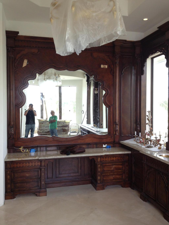 Master Bathroom Vanity Sitting Area By Jpauldesigns On Deviantart