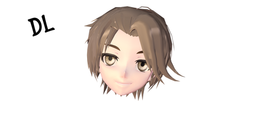 || Male hair -download- ||