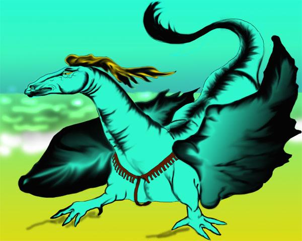 dragon by AlinaRettler