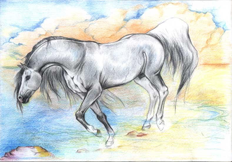 Silver Ghost by AlinaRettler