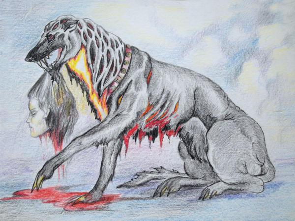 Hell hound by AlinaRettler