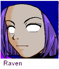 Raven's face by teentitans127