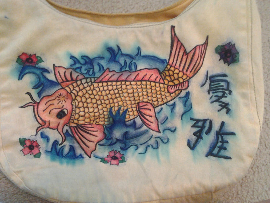 Koi fish purse for Koi fish purse