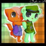 Zoe and Flippy -RQ-