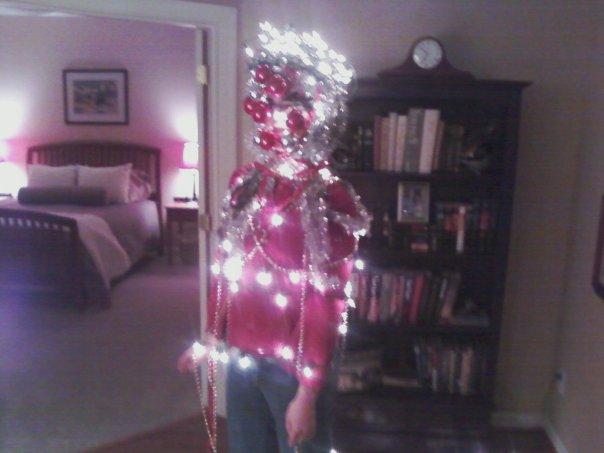 Human christmas tree decorating game myideasbedroom com