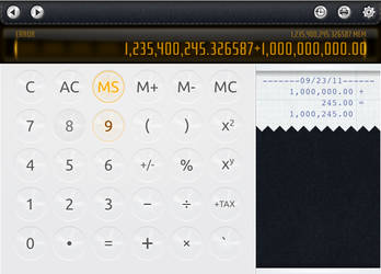 Calculator UI by it-s