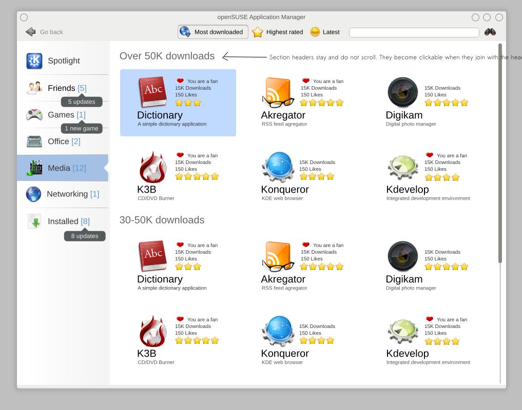 KDE OpenSUSE app store by it-s on DeviantArt