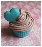 cupcake with heart