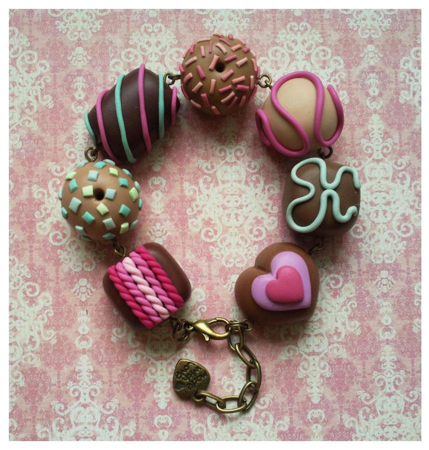 pastel chocolates by Miyaka89