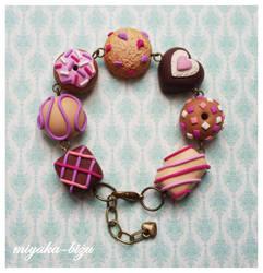 pink chocolates