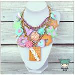 hugde pastel necklace II