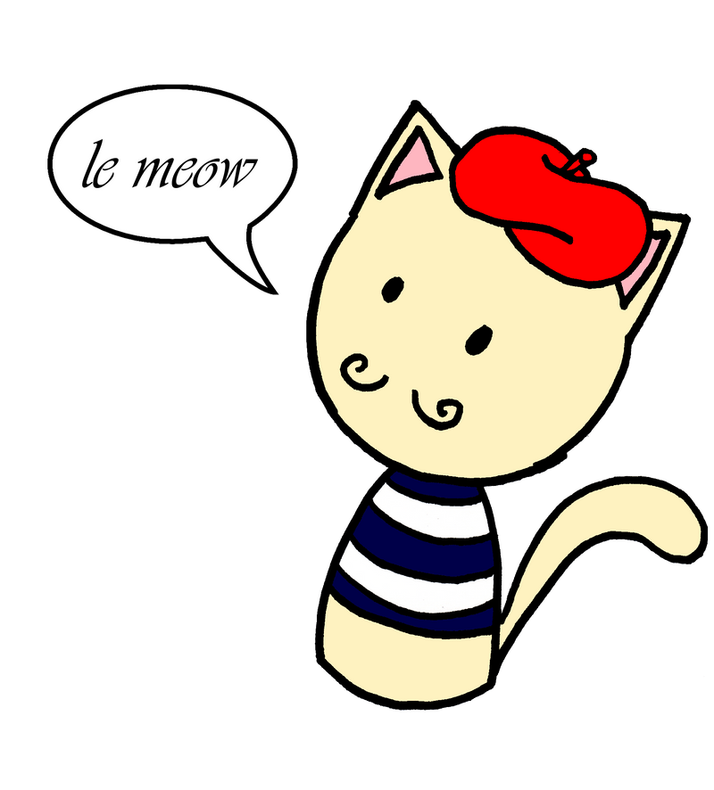 Skype Adventures - French Cat by Lexial-XIII on DeviantArt