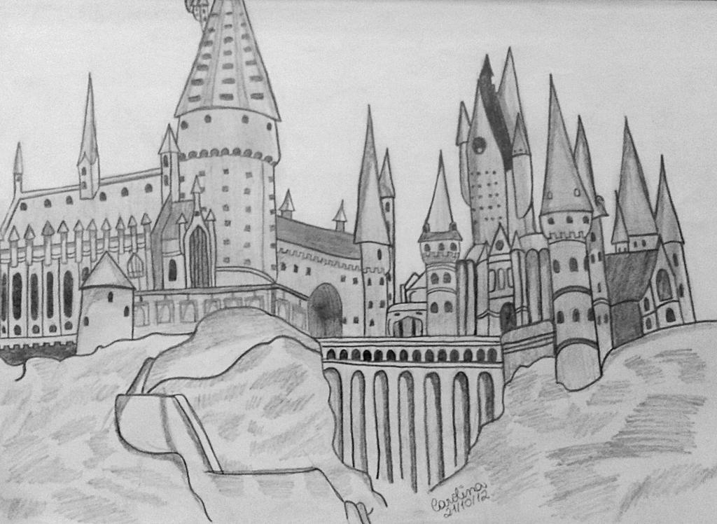 Simple Harry Potter Coloring Pages