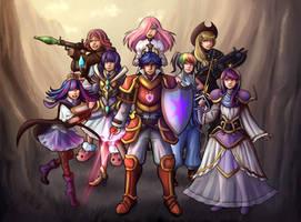 MLP Team by NinjaHam