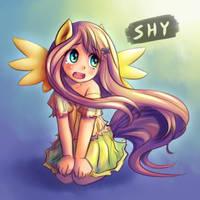 Shy by NinjaHam