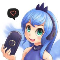 Gamerluna2 by NinjaHam