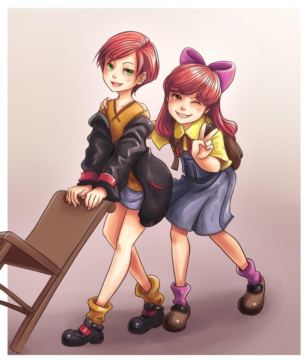 Cousins by NinjaHam