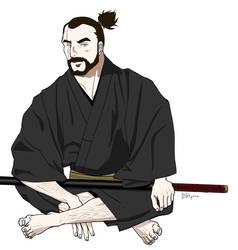 Samurai-Lambert The Witcher by ddpron