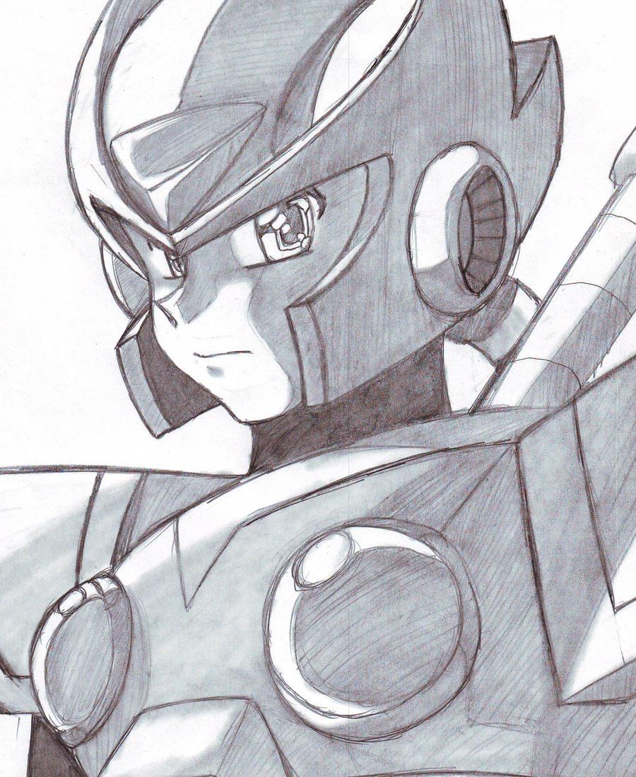 Mega Man X2 - Zero by DariusXII