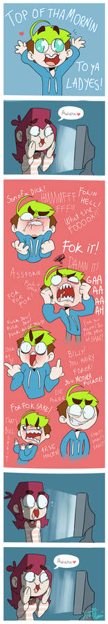 When you start watching Jacksepticeye xD