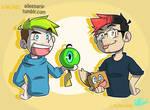Jack and Mark ( Collab with xOtakuStarx :D )