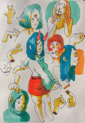sketchbook page 59 by IvaTheHuman