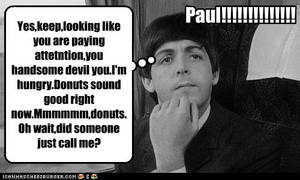 Paul is thinking...