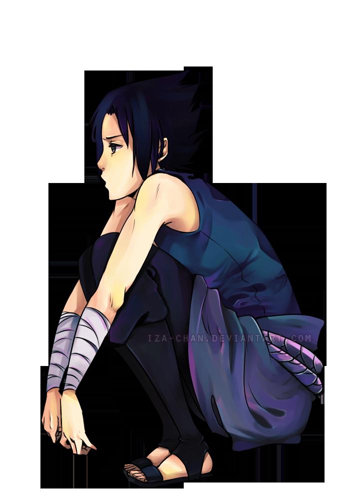 NARUTO: Sasuke by iza-chan