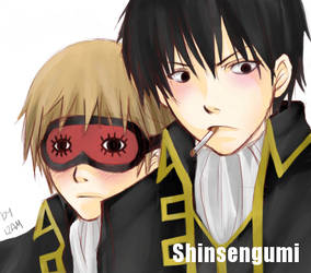 Shinsengumi - Gintama - Junk-