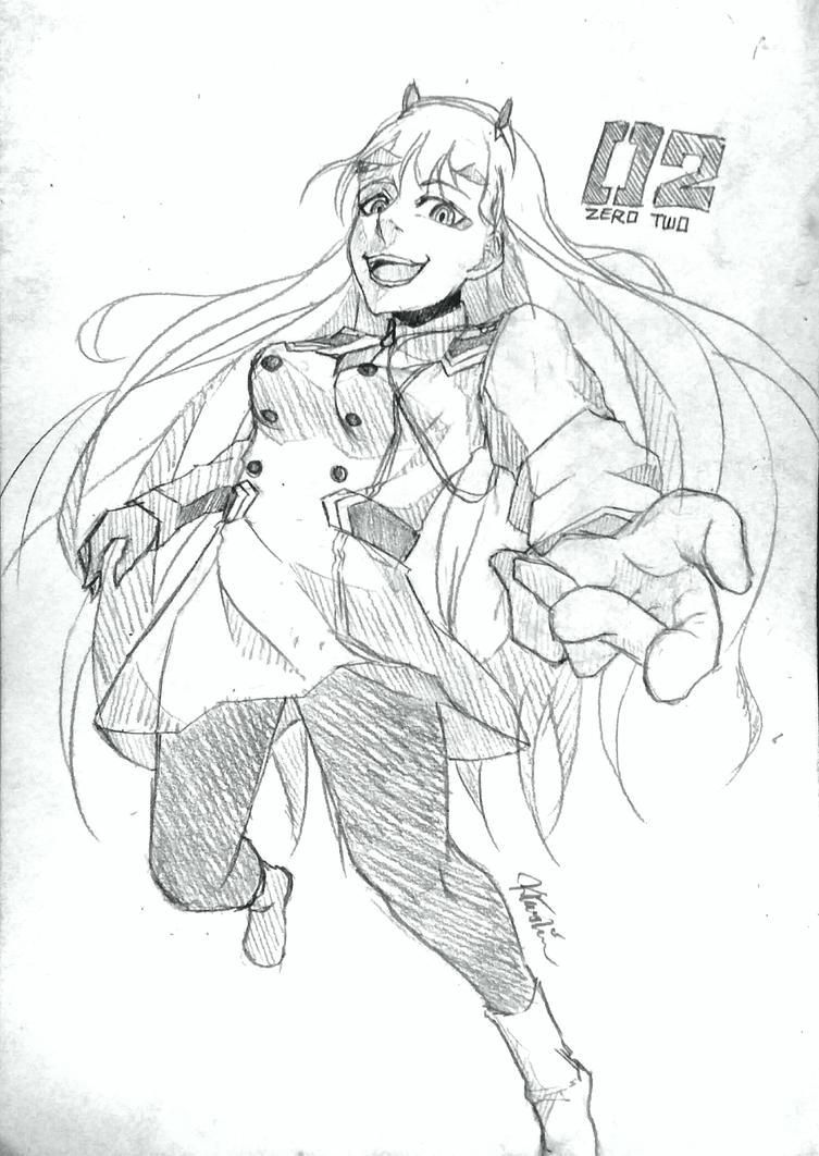 Zero Two by Ahkhai1999