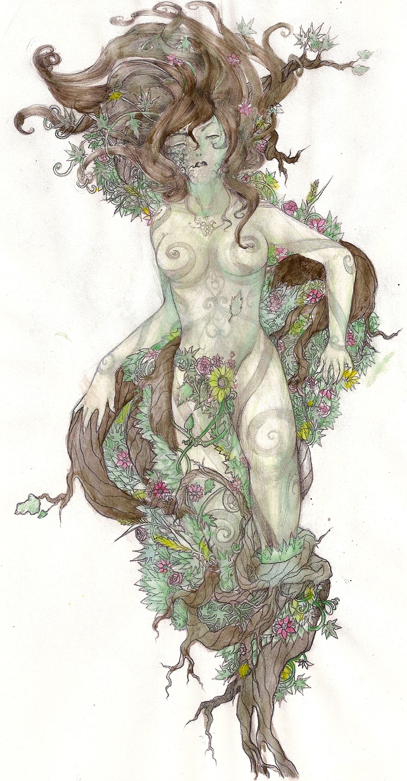 Gaea in color by GravihK