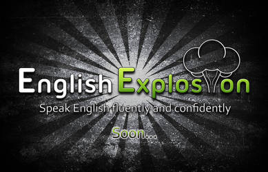 ENGLISH EXPLOSION LOGO by julioodin