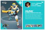 Yellow lion Hunk Bio by RhinoWing