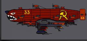 SovietDestroyer class Air-Ship