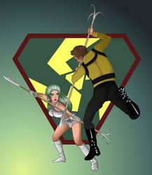 Kirk vs. Shahna by 71olo
