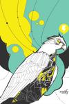 Hawk Scene by violentarthz