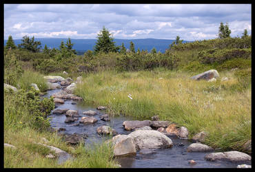 Mountain's Magic Stream by blenden